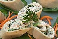 Picture of Spinach Rollups Recipe - Item No. 137-spinachrollups