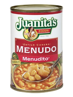 Picture of Menudo - Menudito by Juanita's 15 oz.&nbsp;- Item No.&nbsp;1395