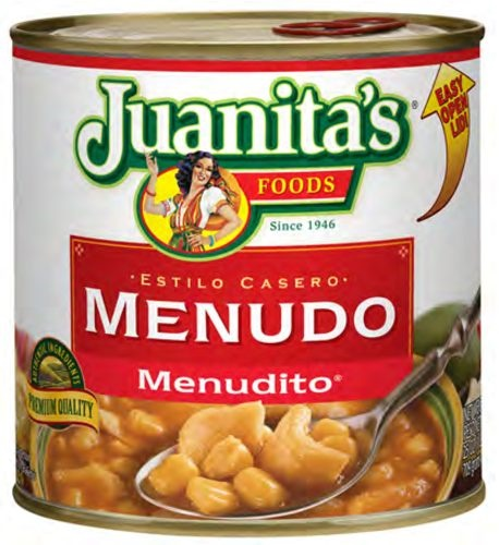 Picture of Menudo - Juanita's Menudo - Menudito 29.5 oz.&nbsp;- Item No.&nbsp;1397