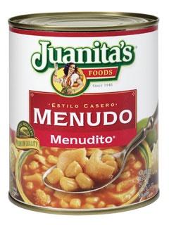 Picture of Menudo - Menudito Foodservice by Juanita's 105 oz.- Item No.1398