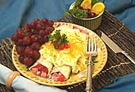 Picture of Enchilada Breakfast Casserole Recipe - Item No. 140-enchiladabreakfast