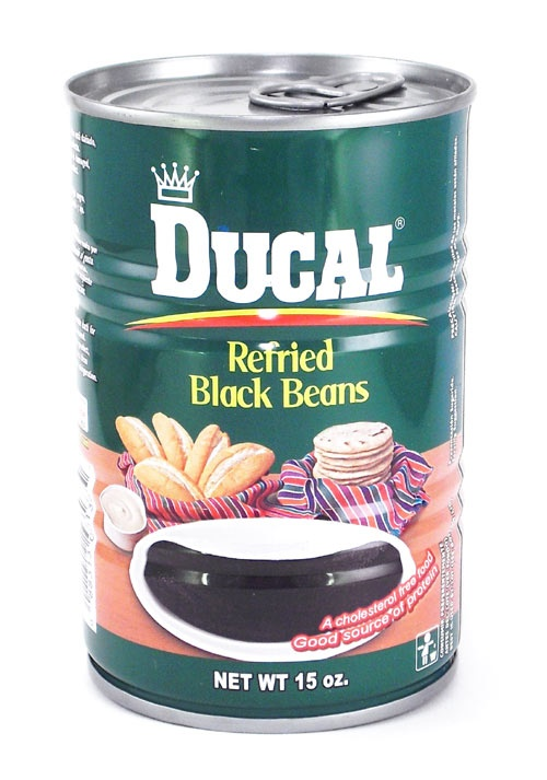 Picture of Ducal Refried Beans Black - 15 oz.&nbsp;- Item No.&nbsp;1400