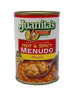 Picture of Hot & Spicy Menudo Picoso by Juanitas 15 oz&nbsp;- Item No.&nbsp;1404