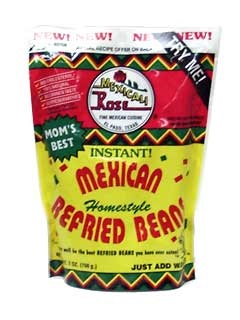 Picture of Mexicali Rose Instant Mexican Refried Beans 7 oz. - Item No. 1419