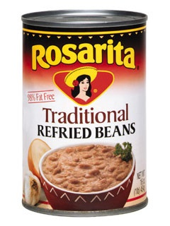 Picture of Refried Beans Traditional by Rosarita 16 OZ - Item No. 1420