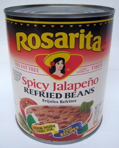 Picture of Rosarita Spicy Refried Beans 30 oz&nbsp;- Item No.&nbsp;1421