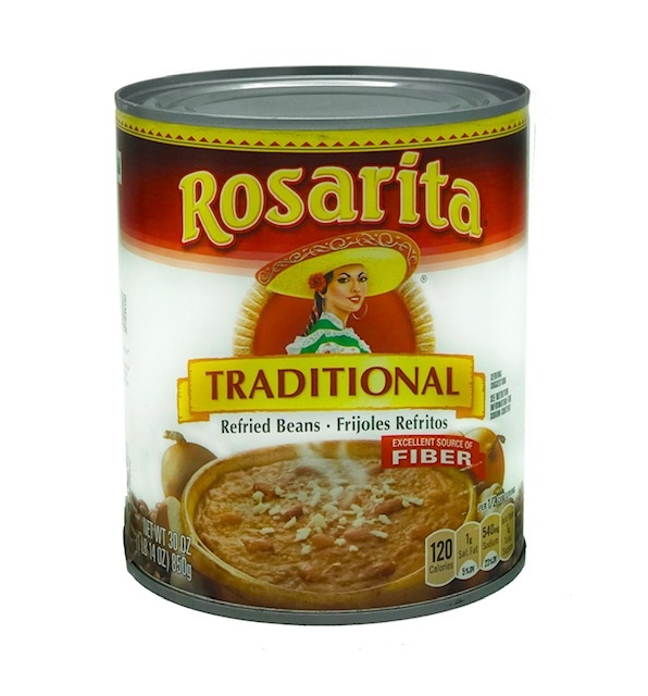 Picture of Refried Beans Traditional by Rosarita 30 OZ - Item No. 1422