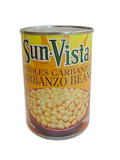 Picture of Garbanzo Beans by Sun Vista 15 OZ&nbsp;- Item No.&nbsp;1430