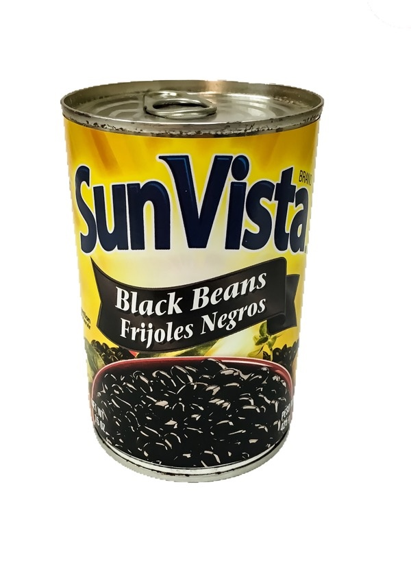 Picture of Black Beans by Sun Vista 15 OZ - Item No. 1431