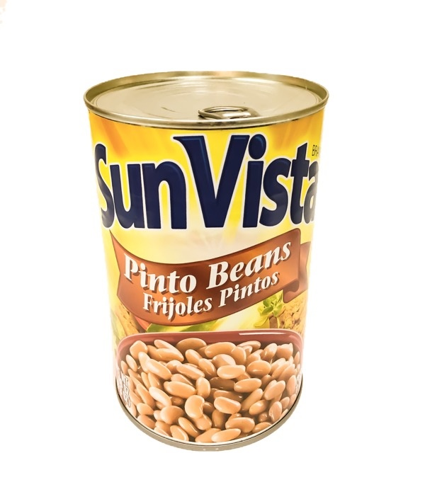 Picture of Pinto Beans with Garlic by Sun Vista 15 OZ - Item No. 1432