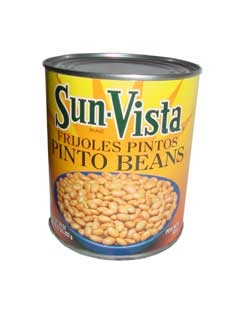 Picture of Pinto Beans with Garlic by Sun Vista 40 OZ - Item No. 1434