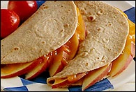 Picture of Apple and Cheese Quesadilla&nbsp;- Item No.&nbsp;145-apple-cheese-quesadilla