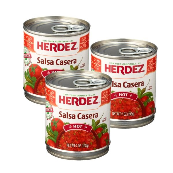 Picture of Mexican Salsa Casera Herdez 7 oz. - Item No. 1455