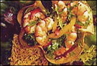 Picture of Tortilla Shrimp Salad Recipe - Item No. 148-tortilla-shrimp-salad