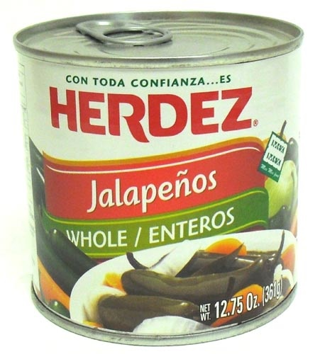 Picture of Jalapenos Herdez Whole 12.75 oz. - Item No. 1480