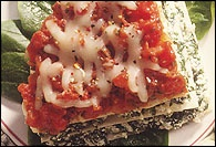 Picture of Veggie Lasagna Recipe - Item No. 149-veggie-lasagna