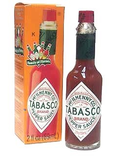 Picture of Tabasco Hot Sauce - Original 2 fl oz. - Item No. 14917