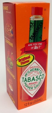 Picture of Tabasco Hot Sauce - Original Flavor 12 fl oz.&nbsp;- Item No.&nbsp;14918