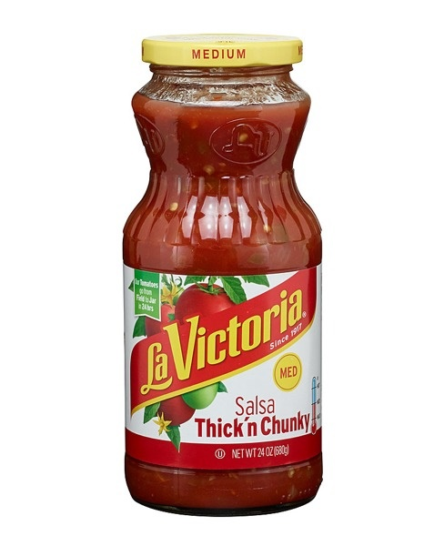Picture of La Victoria Thick 'N Chunky Salsa - Salsas -  Medium - 24 oz&nbsp;- Item No.&nbsp;14947