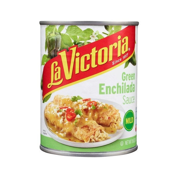 Picture of La Victoria Enchilada Sauce Green - Mild - 28 oz.&nbsp;- Item No.&nbsp;14952