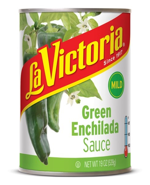 Picture of Green Chile  La Victoria Enchilada Sauce -  Mild - 19 oz - Item No. 14958
