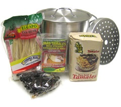 Picture of Tamales - Mexican Tamale Lovers Gift Pack - 5 Items - Item No. 14990