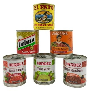 Picture of Salsa Lovers Gift Pack 6 items&nbsp;- Item No.&nbsp;14993