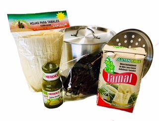 Picture of Mexican Tamales Making Kit - 5 items - Item No. 14994