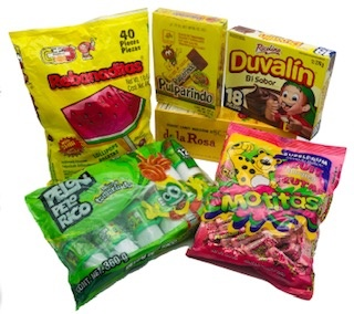 Picture of Mexican Candy Gift Pack 7 units&nbsp;- Item No.&nbsp;14995
