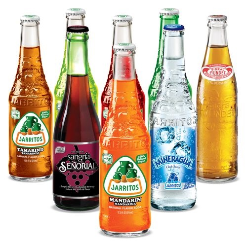 Picture of Authentic Mexican Soda Pack 8 items Assorted - Item No. 15007
