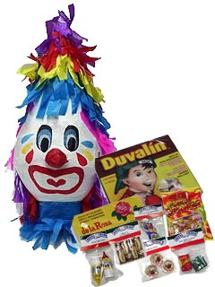 Picture of Pinata & Candy Fiesta Package 10 items&nbsp;- Item No.&nbsp;15015