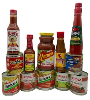 Picture of The Grande Picante Lovers Gift Pack 12 Items - Item No. 15017