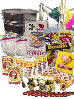 Picture of Deluxe Posada Fiesta Gift Pack 20 items&nbsp;- Item No.&nbsp;15019