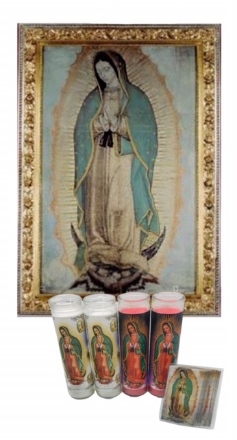 Picture of Our Lady of Guadalupe Kit  6 units - Item No. 15020
