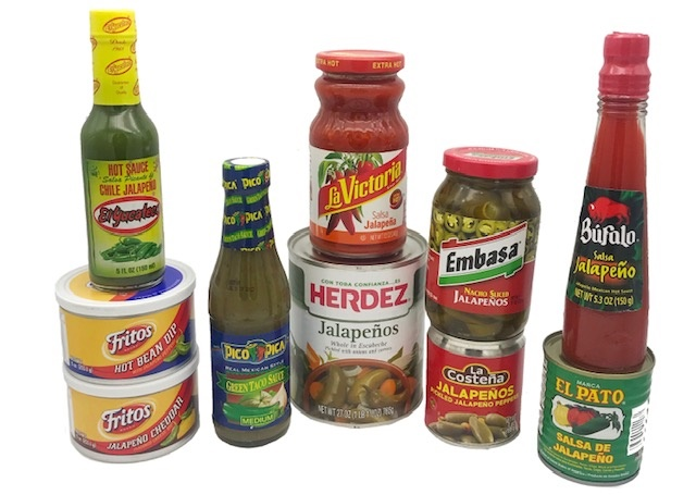Picture of Jalapeno Lovers Gift Pack 10 items - Item No. 15025