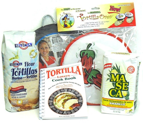Picture of Mexican Tortillas Making Kit 5 items&nbsp;- Item No.&nbsp;15026