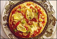 Picture of Spa Pizza Recipe - Item No. 151-spa-pizza