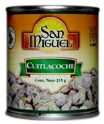 Picture of Huitlacoche / Corn Truffle or Cuitlacoche 7.57 oz by San Miguel formerly Sabores Aztecas brand&nbsp;- Item No.&nbsp;15116