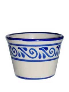 Picture of Mexican Pottery - Ceramic Flower Pot from Mexico - Medium- Item No.15cb20682