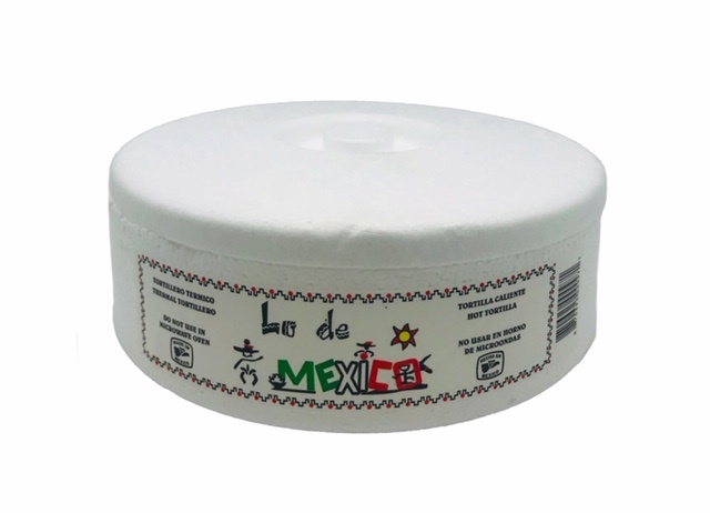 Picture of Tortilla Warmer (Foam) 9 oz.&nbsp;- Item No.&nbsp;1614