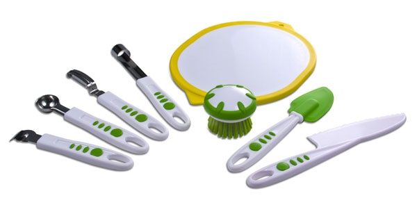 Picture of Curious Chef Build a Kitchen 8 Piece Fruit & Vegetable Set 8 pieces - Item No. 16346-50093