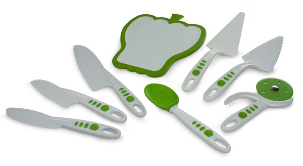 Picture of Curious Chef Build a Kitchen 8 Piece Cutlery & Serving Set 8 pieces&nbsp;- Item No.&nbsp;16346-50095
