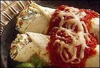 Picture of Easy Tortilla Manicotti - Item No. 164-easytortillamanicotti