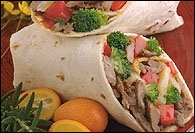 Picture of Sesame Ginger Beef Wraps - Item No. 165-sesame-ginger-beef-wraps