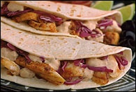 Picture of Ensenada Fish Tacos Mexican Recipe - Item No. 166-ensenada-fish-taco