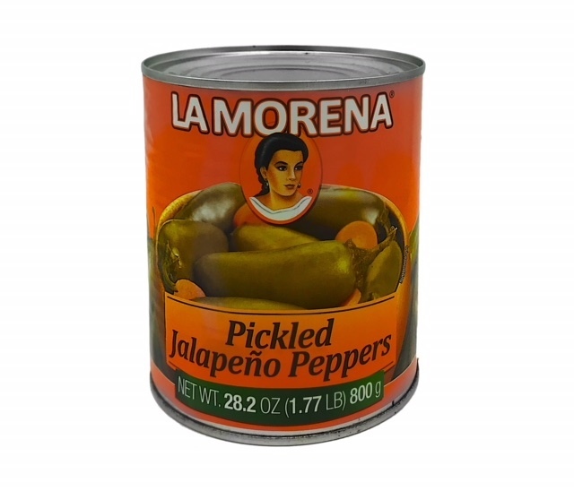 Picture of La Morena Whole Jalapeos Peppers 27 oz.&nbsp;- Item No.&nbsp;1701