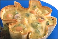 Picture of Turkey Veggie Casserole in Easy Bake Shell - Item No. 171-turkey-veggie-casserole
