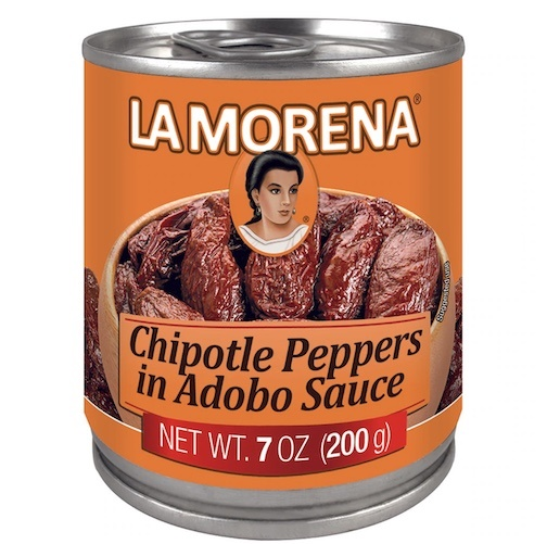 Picture of La Morena Chipotle Peppers in Adobo Sauce 7 oz. - Item No. 1720