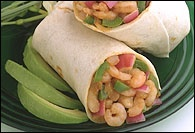 Picture of Mexican Shrimp Wraps Recipe - Item No. 175-mexican-shrimp-wraps