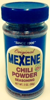 Picture of Mexene Chili Powder Seasoning 3 oz - Item No. 17600-02202